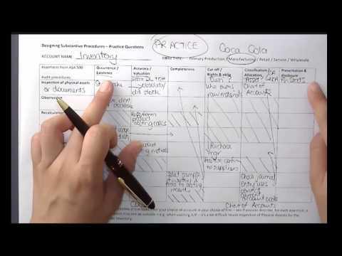 Designing Audit Procedures - Some Examples