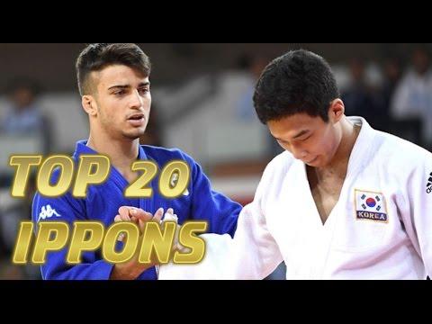 柔道 JUDO   TOP 20 IPPONS 2016   Judo Ukemi