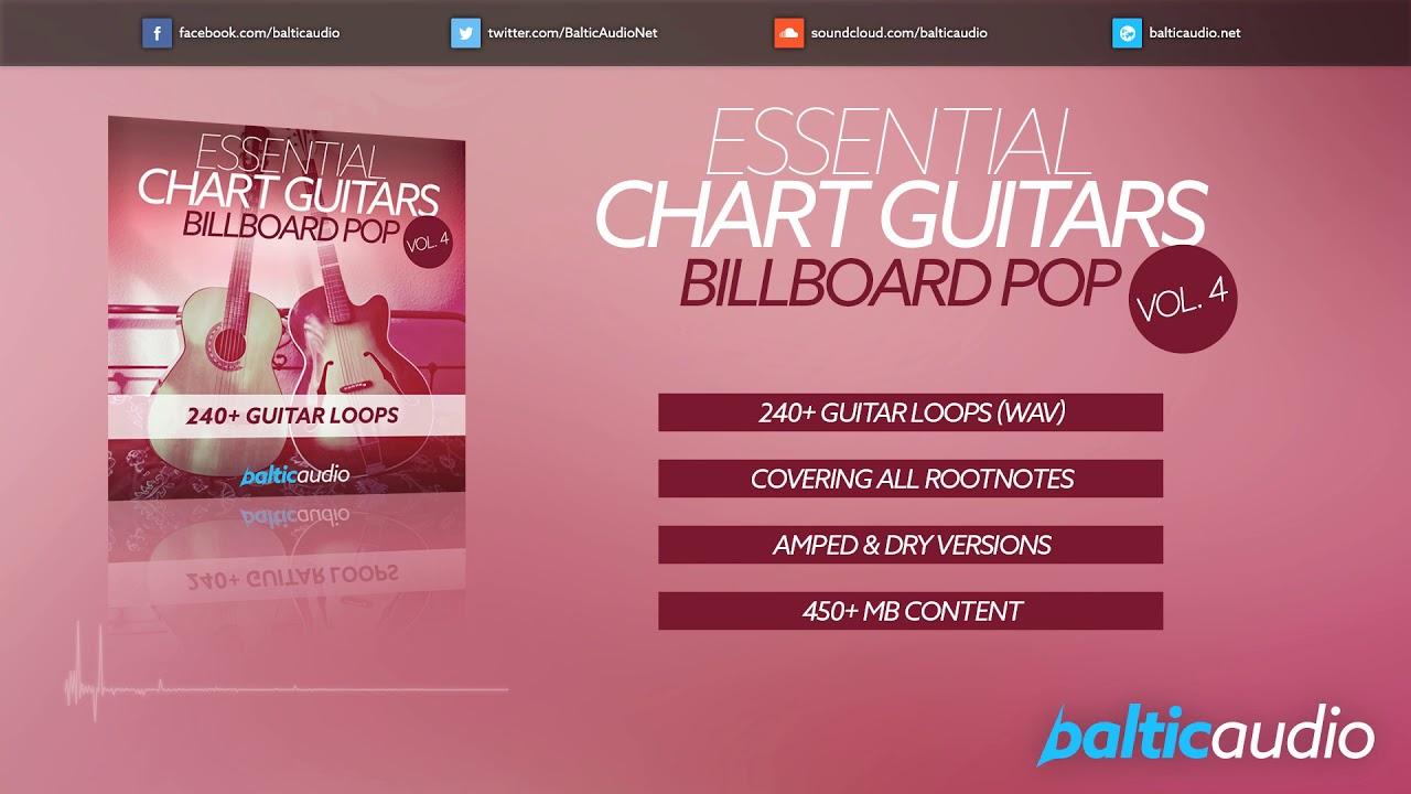 Essential Chart Guitars Vol 4: Billboard Pop (240+ guitar loops)