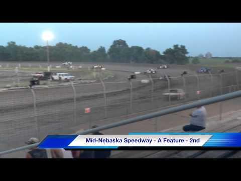 Mid-Nebraska Speedway 7/6/13 - Kyle Prauner 5K
