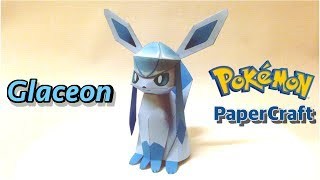 Glaceon PaperCraft Pokemon