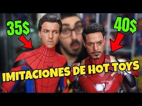 IMITACIONES Low Cost De Las HOT TOYS De SPIDERMAN Y IRONMAN | ¿Valen La Pena?
