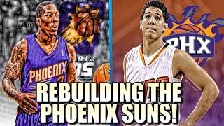 Rebuilding The Phoenix Suns! - NBA 2K17 MY LEAGUE