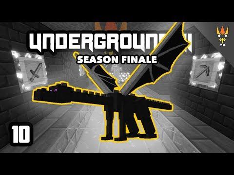 MELAWAN RAJA TERAKHIR! (Season FINALE) - Minecraft Underground 2 Indonesia #10