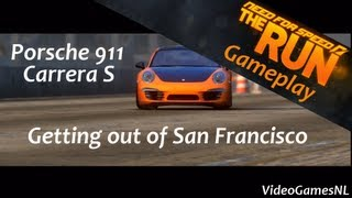 Need For Speed: The Run | Getting Out of San Francisco - Porsche 911 Carrera Gameplay [PS3] [HD]
