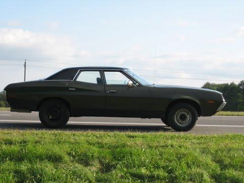 1972 ford gran torino 4-door pillared hardtop - youtube