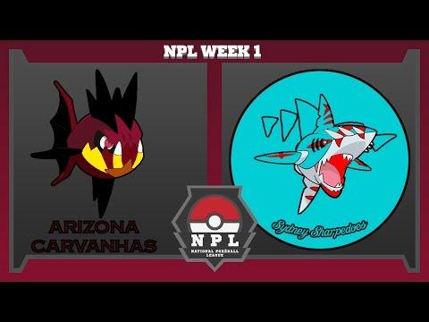 """NPL S6 W1   """"David vs Goliath""""   Arizona Carvanhas vs Sydney Sharpedos (Gypsy)"""