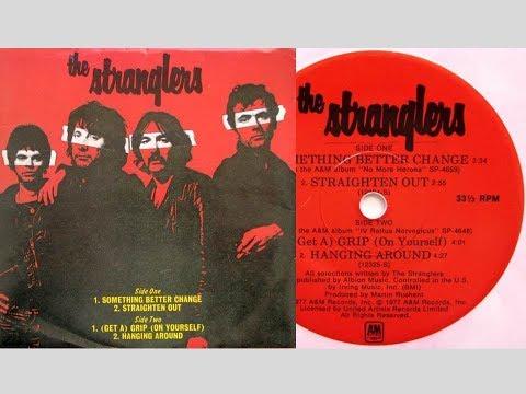 The Stranglers - Hanging Around (On Screen Lyrics/Picture Slideshow)