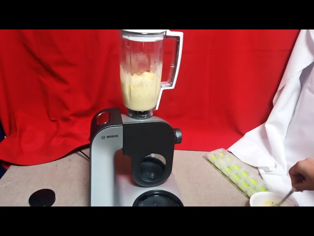 Bosch MUM5 robotgèppel jeges kávés frissítő kèszítès
