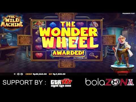 "Game Slot Pragmatic "" The Wild Machine "" Via Pulsa Online"