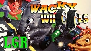 LGR - Wacky Wheels - DOS PC Game Review