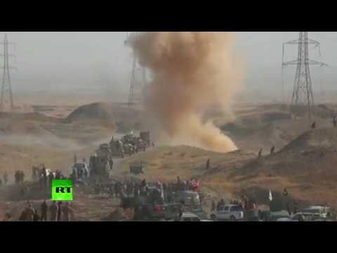 RAW: Iraqi forces continue to advance on ISIS in Hawija