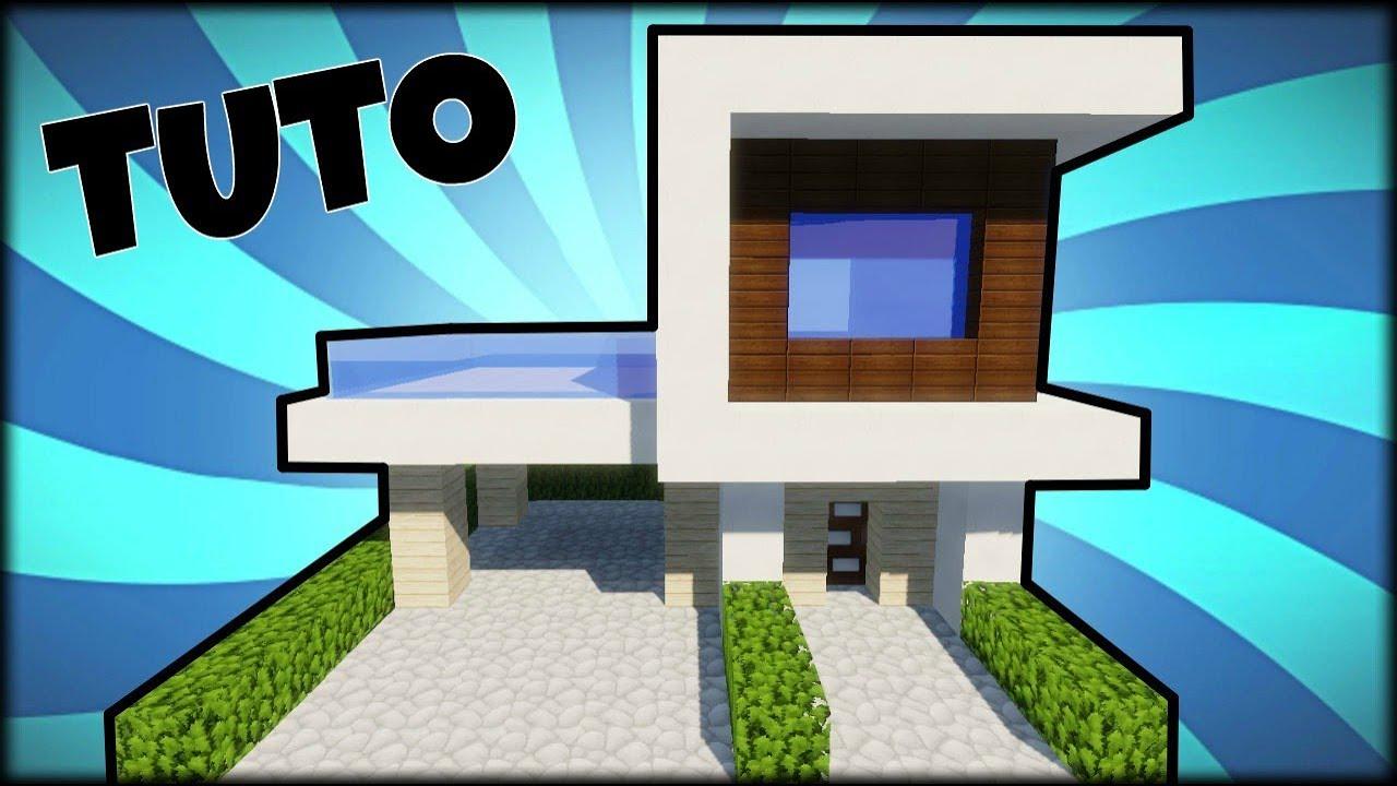 Minecraft Comment Faire Une Maison Moderne Et Luxueuse Gamboahinestrosa