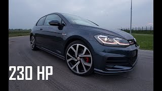 Volkswagen Golf GTI 2018 // pure sound // test drive // 0-100km/u