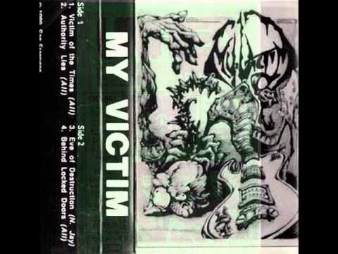 My Victim (US | CA ) -  No Turning Back (1992 demo SF)