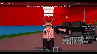 Parafusando em torno de simulador de polícia (ROBLOX)