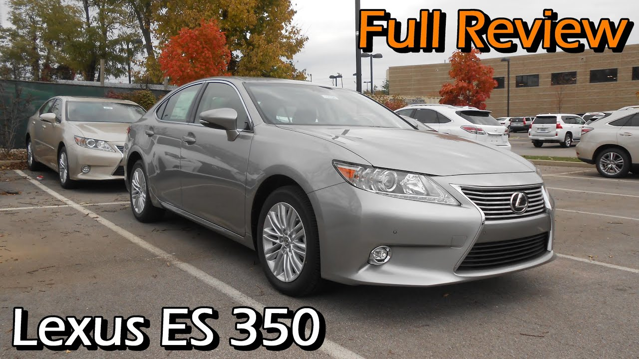 Nice 2015 Lexus ES 350: Full Review   YouTube