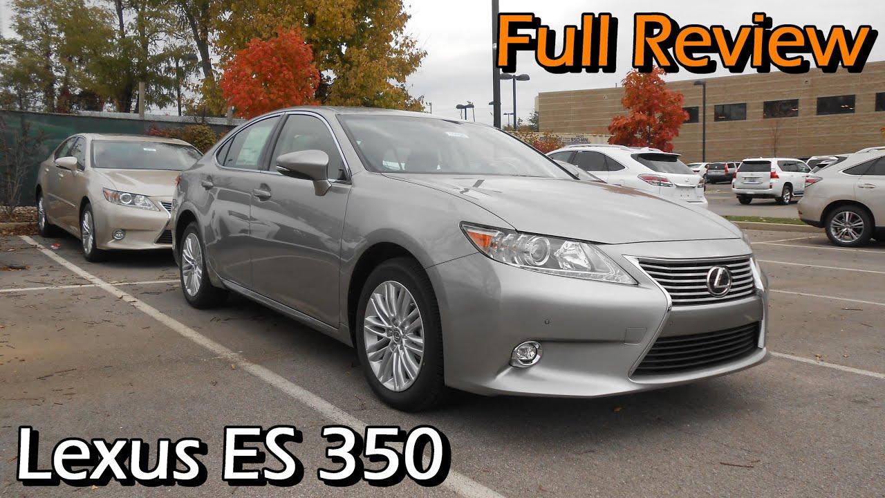 2015 Lexus ES 350 Full Review