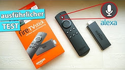 Amazon Fire TV Stick mit Alexa-Sprachfernbedienung im Test | deutsch
