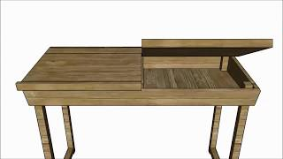 How To Build A Kids Desk
