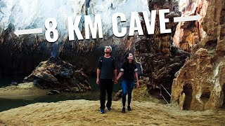 Exploring the WORLD'S LONGEST WET CAVE (Phong Nha Cave)