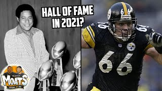 Will pittsburgh steelers bill nunn & alan faneca be inducted into the pro football hall of fame?