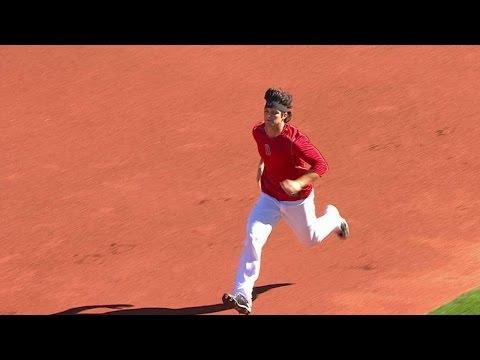 BAL@BOS: Sox give update on Benintendi