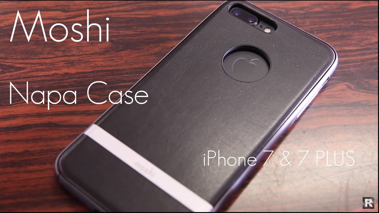 online store c9d6b a4f8c Moshi Napa Case iPhone 7 & 7 Plus - Review / Demo