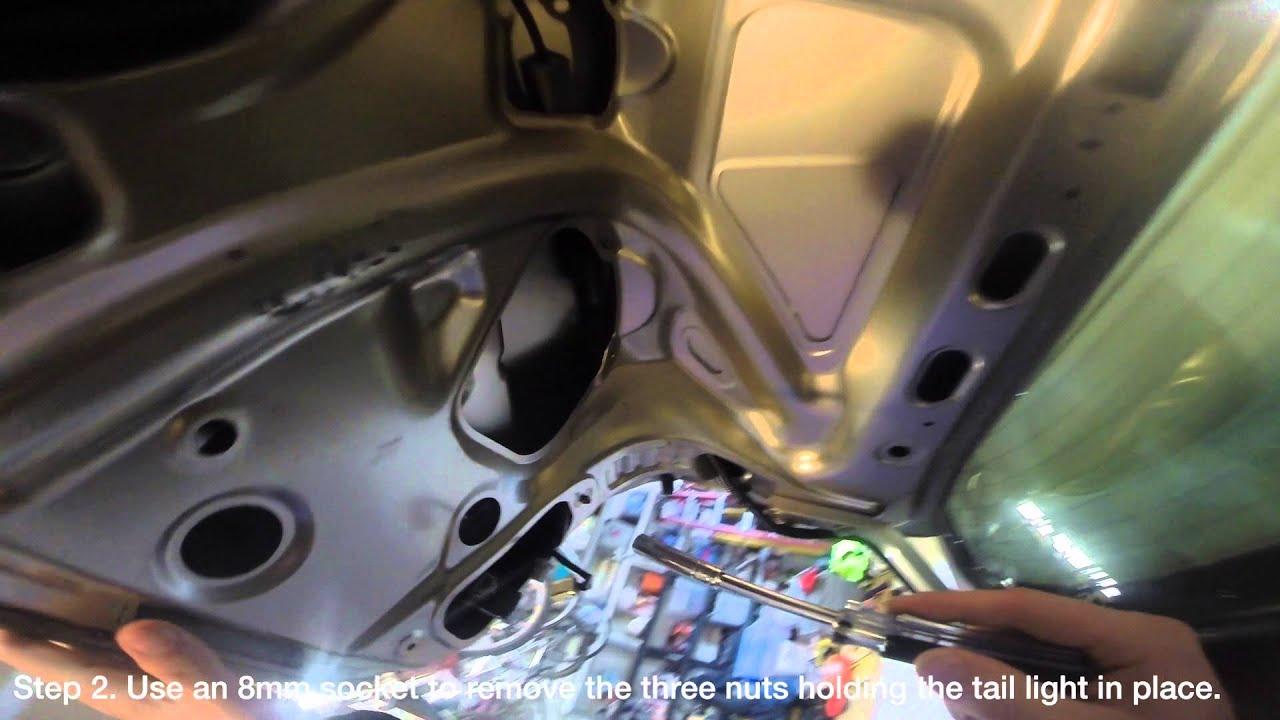 Honda Accord Wiring Diagram Trunk Lid Tail Light Replacement Honda Accord Lx Sedan