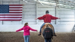 Horse therapy program helps wounded warriors at Joint Base Lewis McChord overcome emotional and physical scars of war.