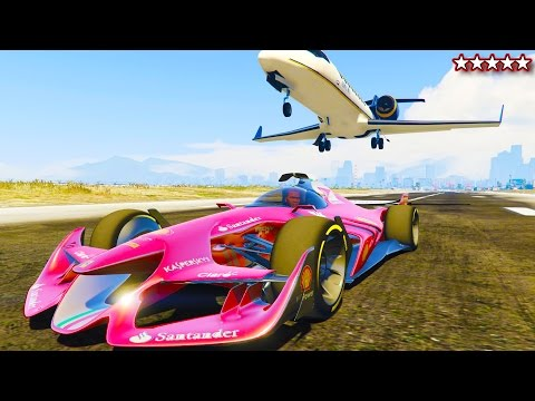 F1 Ferrari Concept GTA 5 PC Mod - Testing Out F1 Concept Car - Grand Theft Auto 5