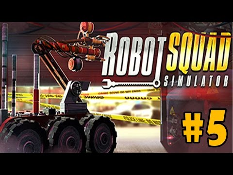 Robot Squad Simulator 2017 - Walkthrough - Part 5 - Accident in The Coal Mine (PC HD) [1080p60FPS] |