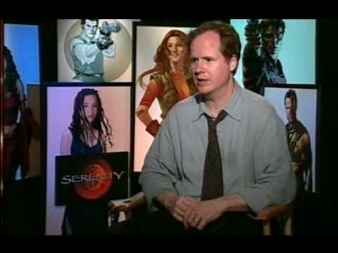 Film 2005 Of The Year Serenity, Joss Whedon, Jonathan Ross BBC1