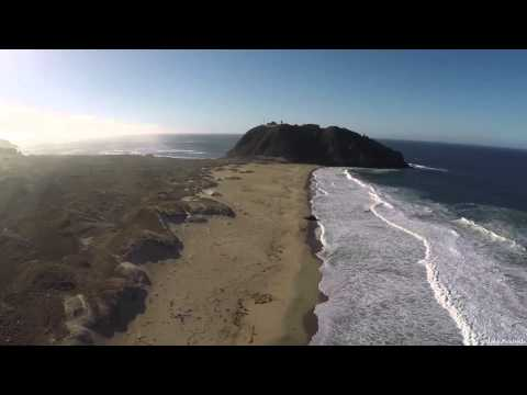 DJI Phantom Point Sur Lighthouse (1080p HD) Big Sur California