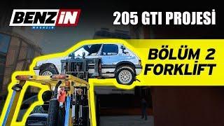 Peugeot 205 GTI kaportaya gitti | Forkliftten düştü mü? | Bölüm 2