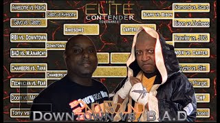 2nd Round Of The Elite Contender Tournament: Downtown vs B.A.D (Monday Night Mic)