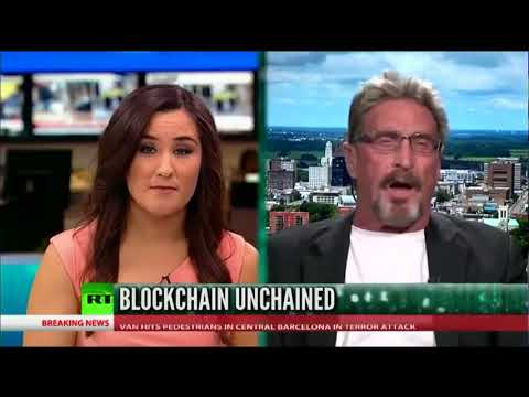 John McAfee: Bitcoin 500k By 2020 Buy NOW!!!