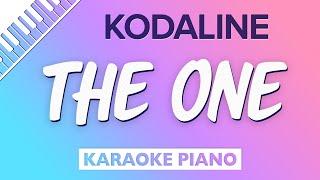 The One (Piano Karaoke Instrumental) Kodaline