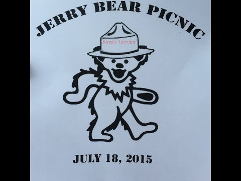 Sticky Greens - Brown Eyed Woman @ Jerry Bear Picnic, Thompson, CT 7-18-2015