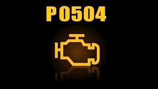 Ошибка P0504 после установки led ламп, как устранить?!