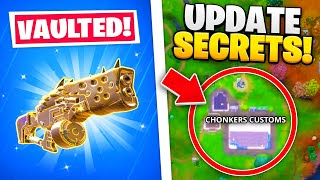 15 SECRETS In NEW FORTNITE UPDATE!