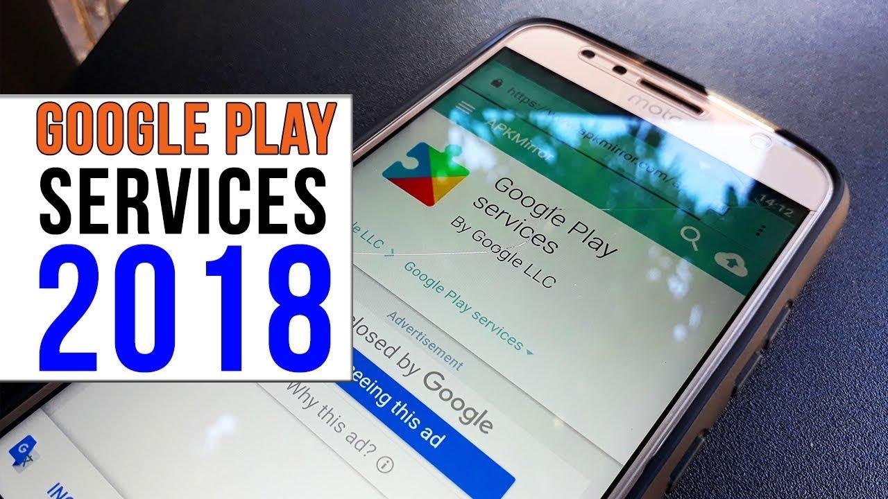 como instalar o google play service