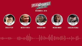 SPEAK FOR YOURSELF Audio Podcast (12.4.18)with Marcellus Wiley, Jason Whitlock | SPEAK FOR YOURSELF