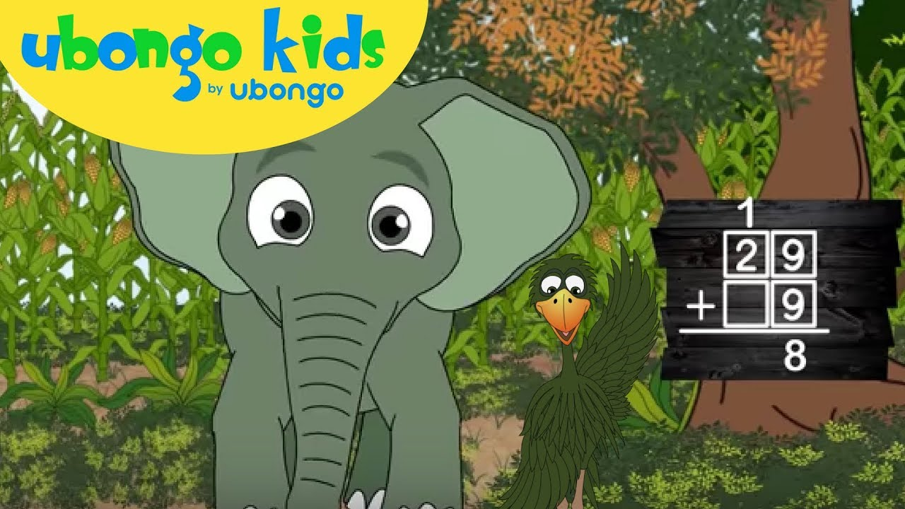 Learn Addition with Carrying! | Follow the Order Song | Ubongo Kids