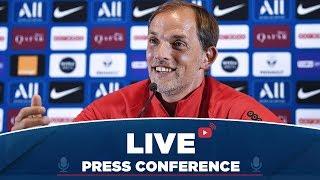 Conférence de presse de Thomas Tuchel et Ander Herrera avant Paris Saint-Germain  RC Strasbourg
