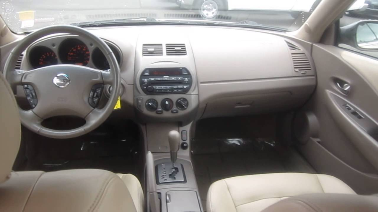 2002 Nissan Altima, Gold   STOCK# K1309011   Interior