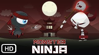 Monster Ninja is available for FREE on AppStore and Google Play! Do...