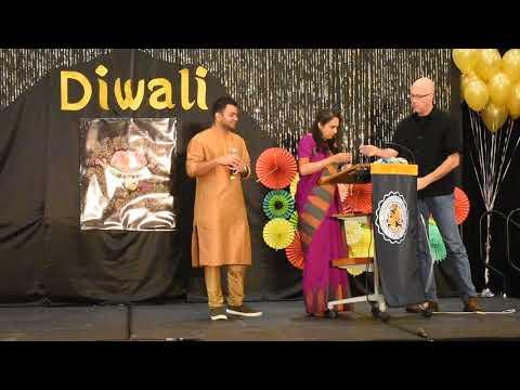 Uakron Diwali 2017 Mrs Chandrika Gopal & Pritam
