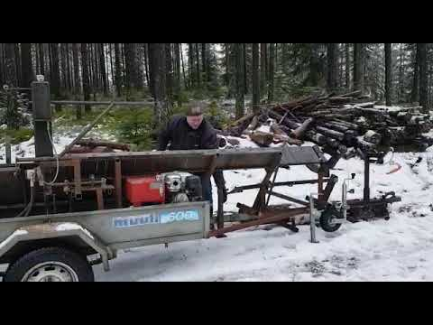 Homemade firewood processor 2018