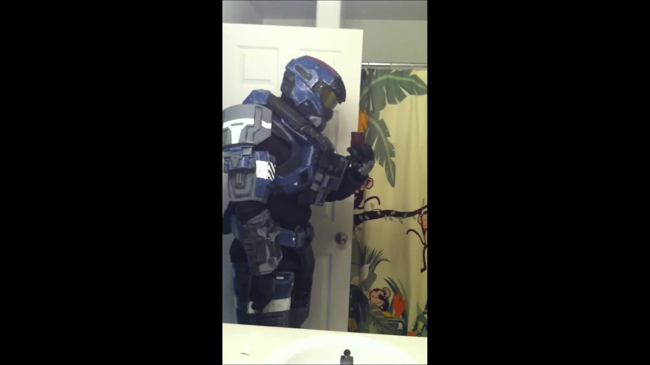 Carter Halo Reach Foam Armor - YouTube